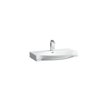 812702 - Laufen Palace 900mm x 510mm Washbasin with Towel Rail - 8.1270.2